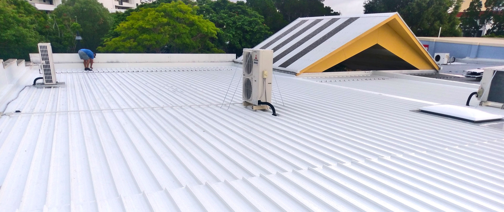 Golden Beach Shops Roof Replacement - Roofing Projects