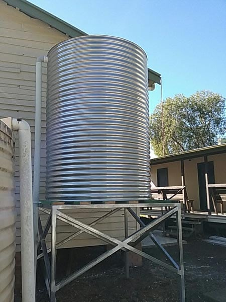 Rainwater Tanks And Pumps Bones Plumbing Amp Roofing