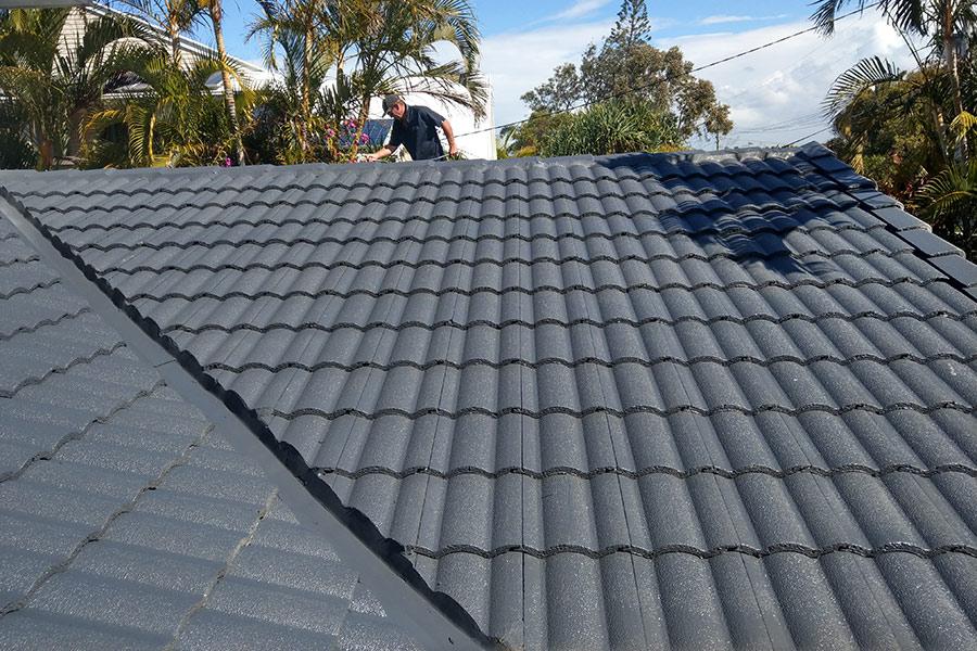 Roof Painting Bones Plumbing Amp Roofing Sunshine Coast